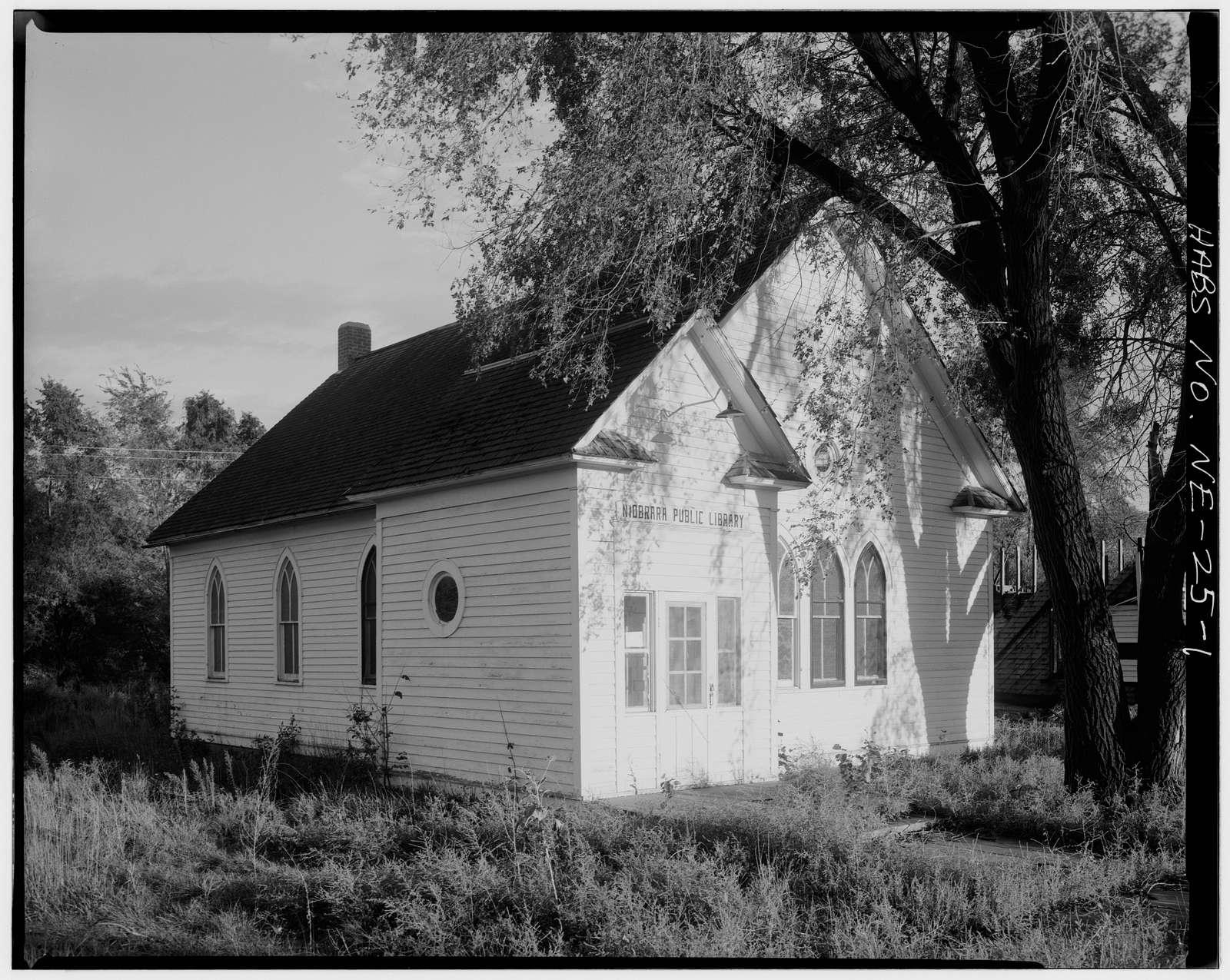 First Methodist Episcopal Church, East side of Fourth Avenue, Niobrara, Knox County, NE