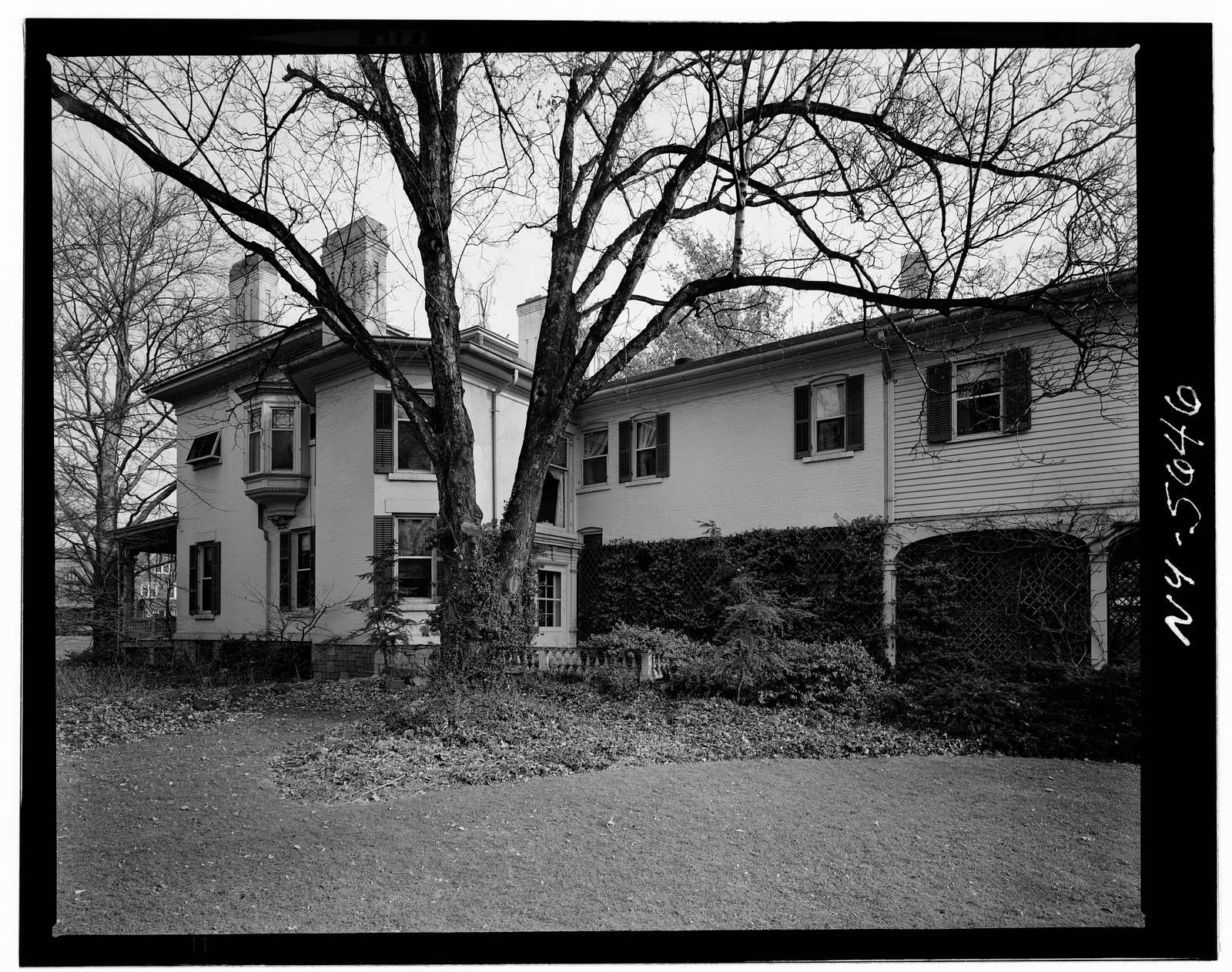 Harris-Hollister-Spencer House, 1005 East Avenue, Rochester, Monroe County, NY