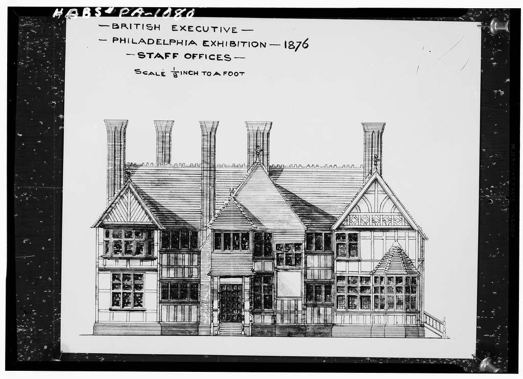 International Exhibition of 1876, St. George's House, State's Drive, Philadelphia, Philadelphia County, PA