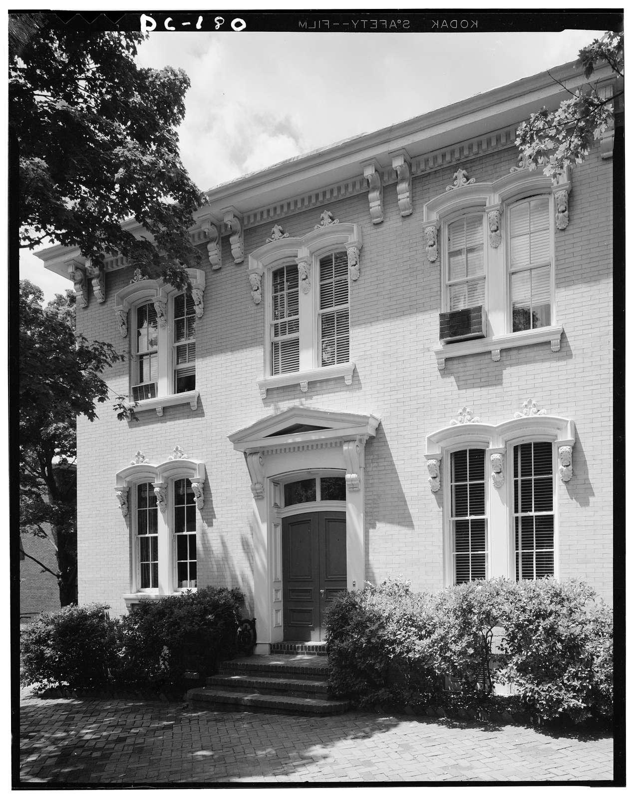 James I. Barrett House, 1400 Twenty-ninth Street Northwest, Washington, District of Columbia, DC