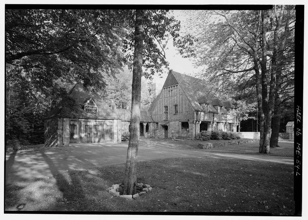 Jordan Pond Gate Lodge, Park Loop Road, 1 mile north of Seal Harbor, Seal Harbor, Hancock County, ME