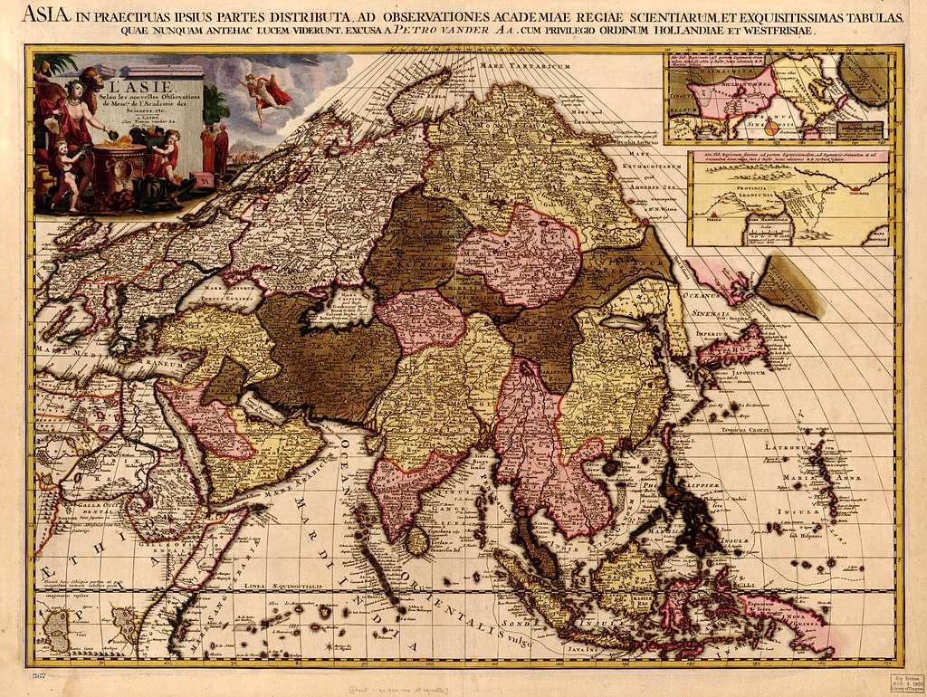 L'Asie, : Selon les nouvelles observations de Mess.rs de l'Academie des Sciences, etc. /