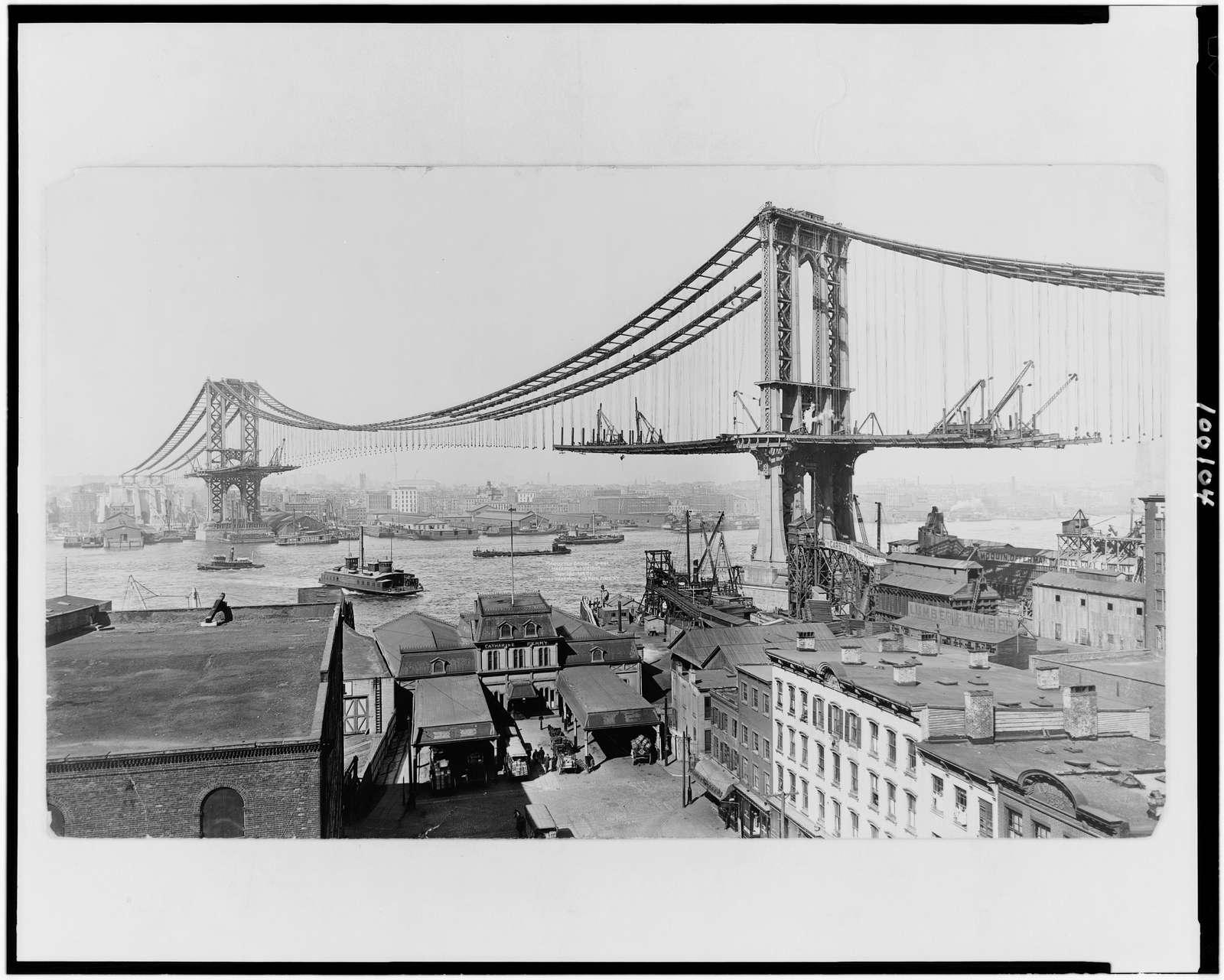 Manhattan Bridge, made March 23rd, 1909