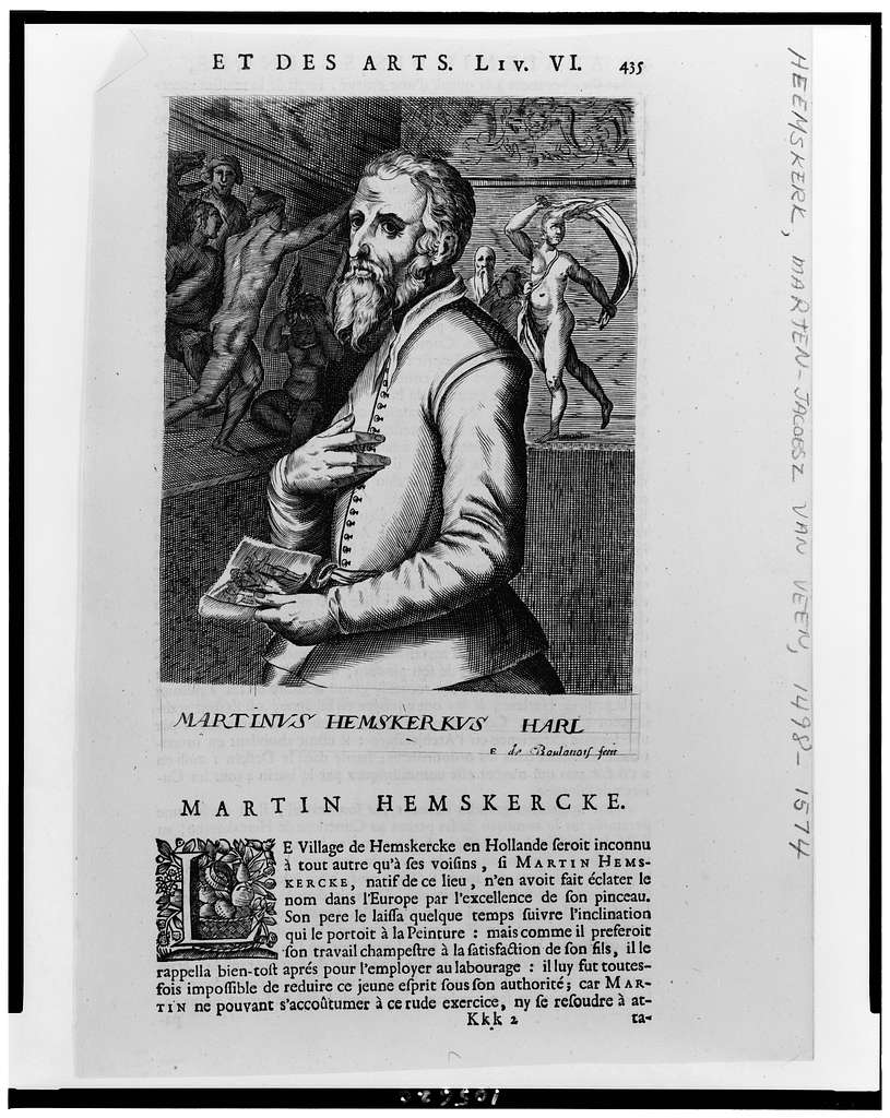 Martinus Hemskerkus Harl / E. de Boulonois fecit.