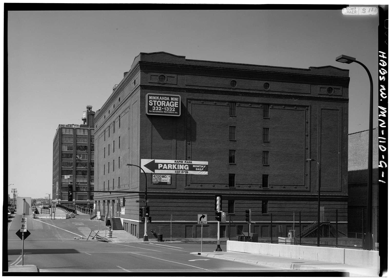 Minneapolis Warehouse District, Fifth Street & Third Avenue North, Minneapolis, Hennepin County, MN