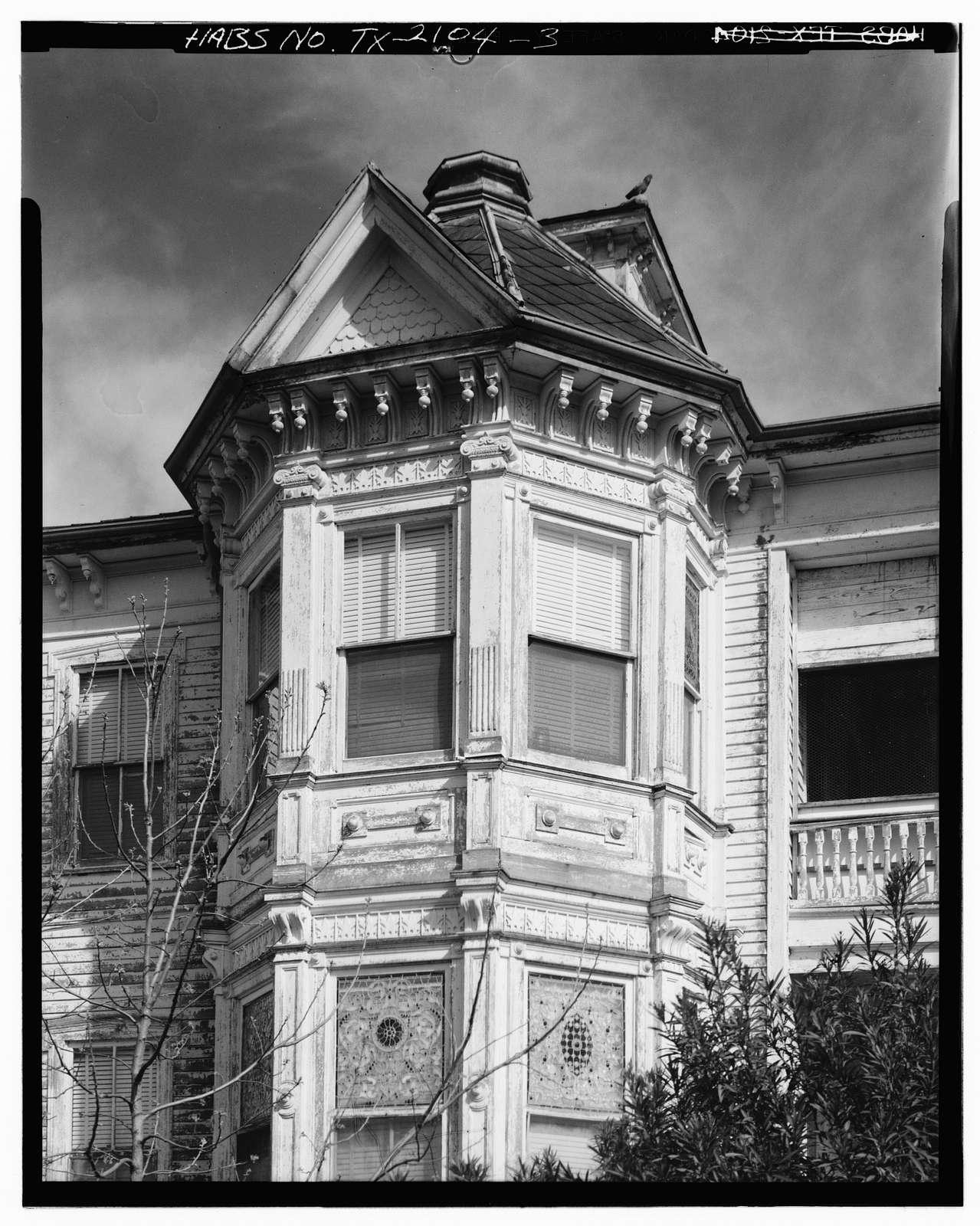 Mrs. John L. Darragh House, 519 Fifteenth Street, Galveston, Galveston County, TX