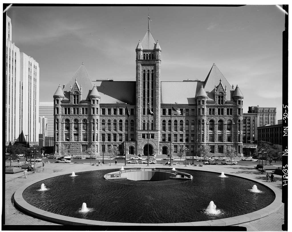 Municipal Building, 350 South Fifth Street, Minneapolis, Hennepin County, MN