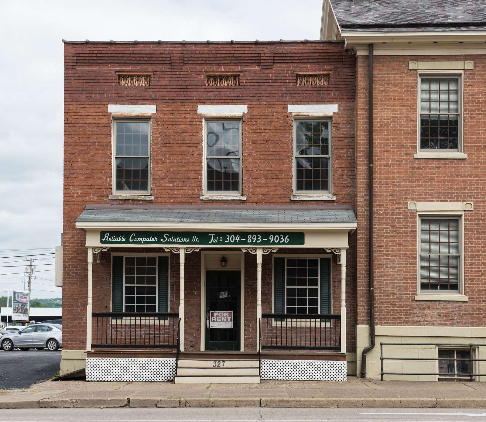 Neale House in downtown Parkersburg, West Virginia