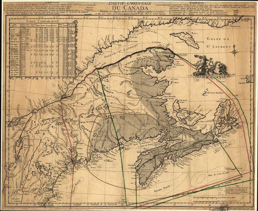 Anglois partie orientale du canada, traduitte de l'anglois de la