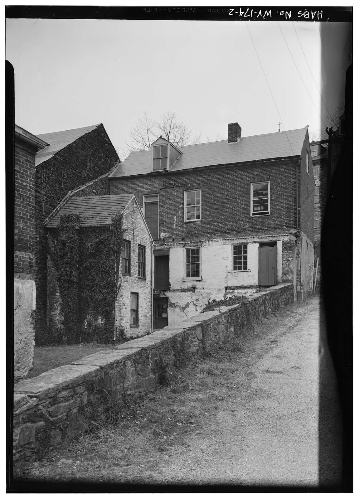 Roeder House, Northeast corner of High Street & Hog Alley, Harpers Ferry, Jefferson County, WV