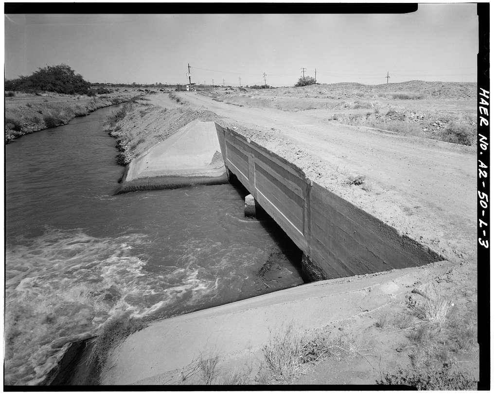 San Carlos Irrigation Project, Casa Blanca Canal, Gila River, Coolidge, Pinal County, AZ