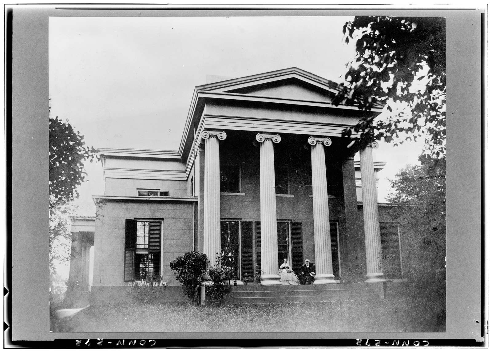 Skinner-Trowbridge House, 46 Hillhouse Avenue, New Haven, New Haven County, CT