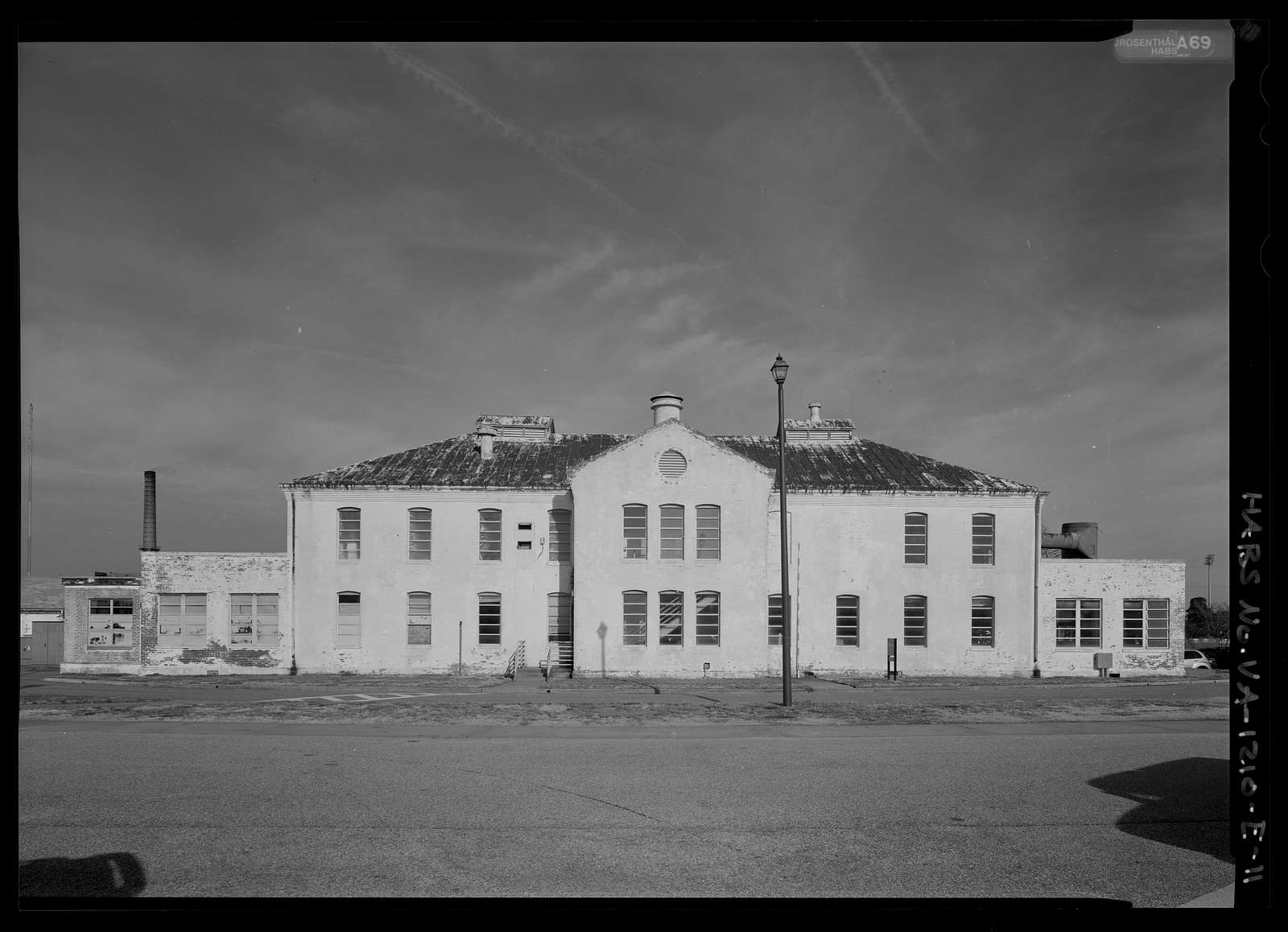 Southern Branch of the National Home for Disabled Volunteer Soldiers, Building 13, Harris Avenue at its intersection of Black Avenue and Woodfin Street, Hampton, Hampton, VA