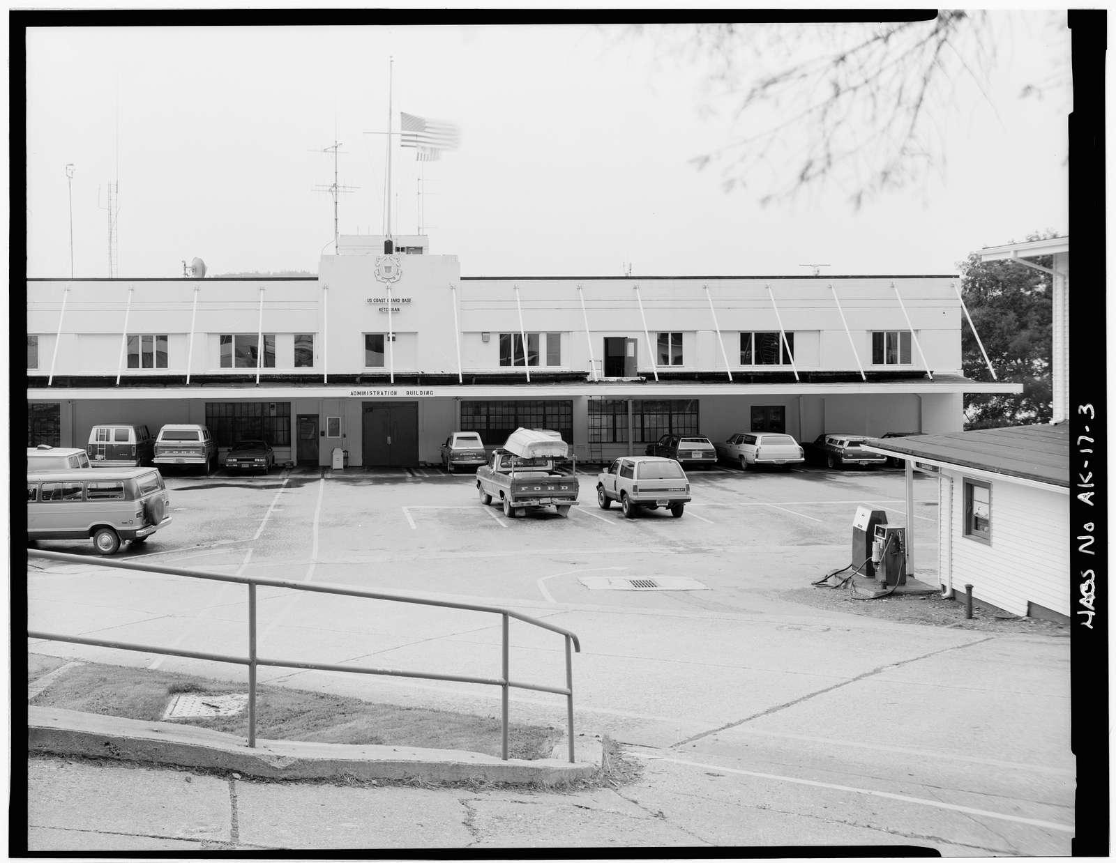 U. S. Coast Guard Headquarters Building, Ketchikan, Ketchikan Gateway Borough, AK