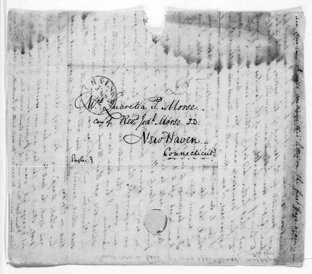 Unbound letters---1821