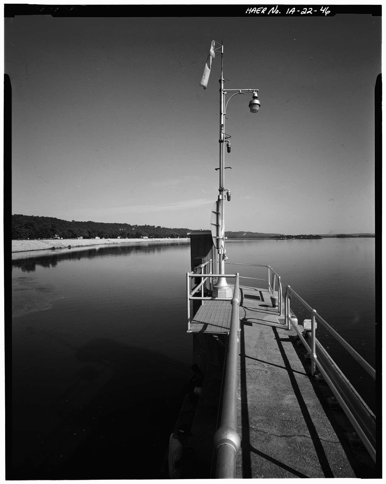 Upper Mississippi River 9-Foot Channel, Lock & Dam No. 10, Guttenberg, Clayton County, IA