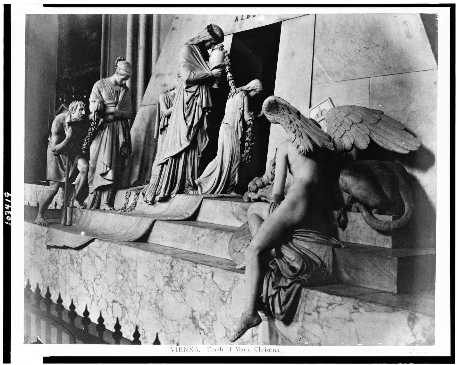 Vienna. Tomb of Maria Christina