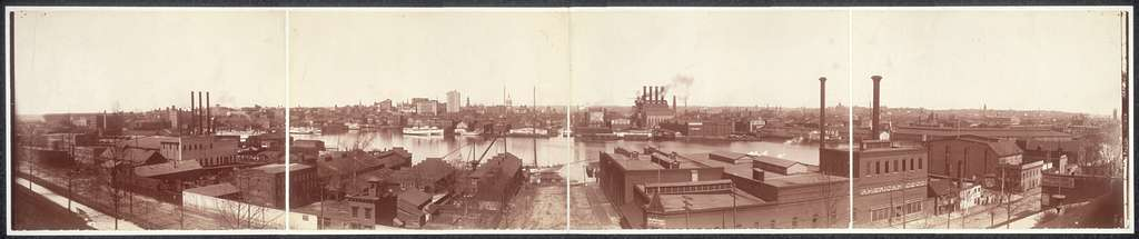 [View of Baltimore from Federal Hill]