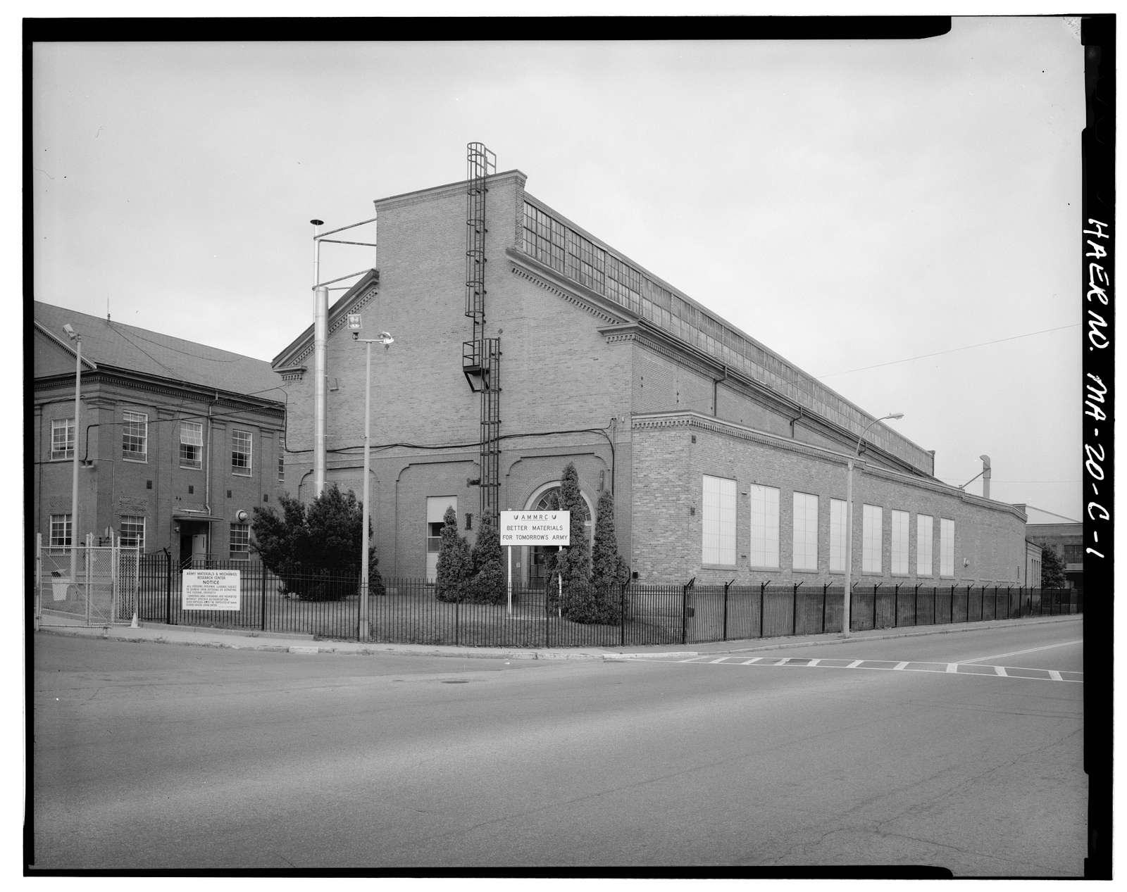 Watertown Arsenal, Building No. 43, Arsenal Street, Watertown, Middlesex County, MA