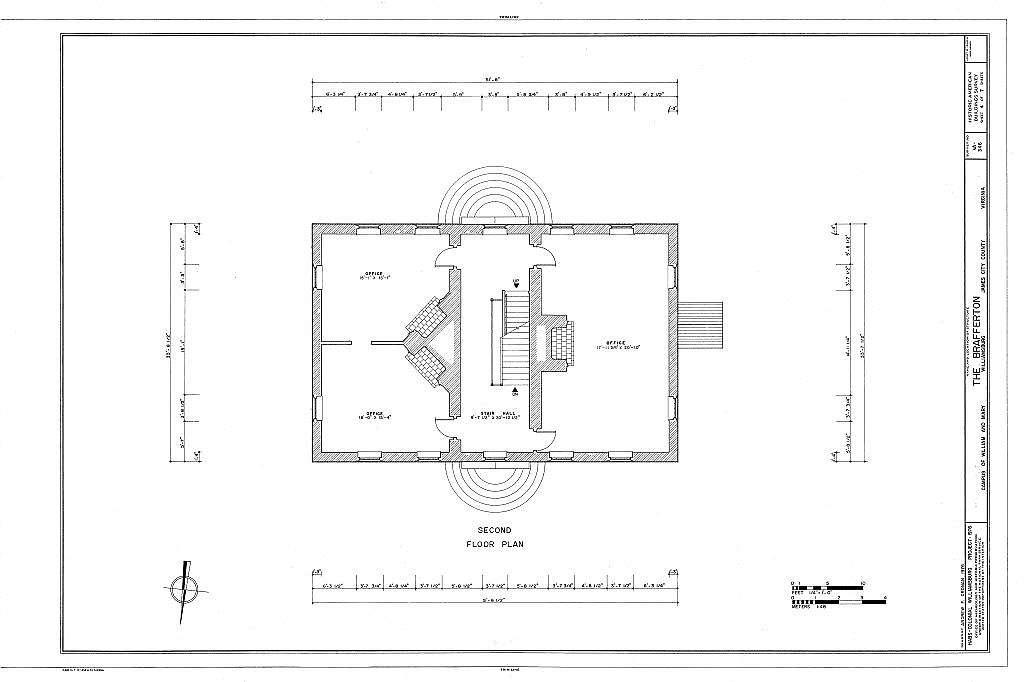 William & Mary College, Brafferton Hall, College Yard, Williamsburg, Independent City, VA