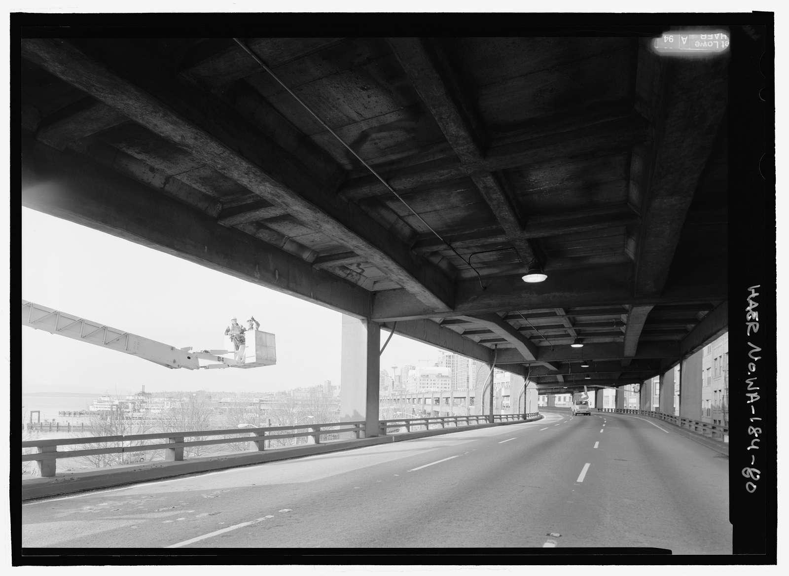 Alaskan Way Viaduct and Battery Street Tunnel, Seattle, King County, WA
