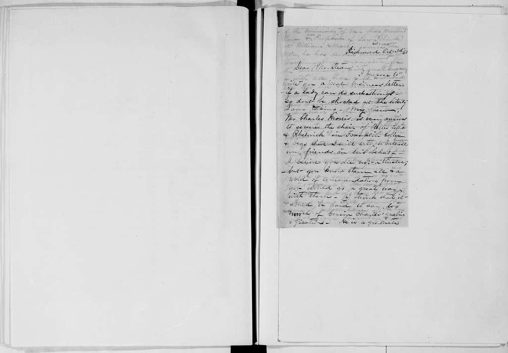 Alexander Hamilton Stephens Papers: General Correspondence, 1784-1886; 1868, June 18-Oct. 29