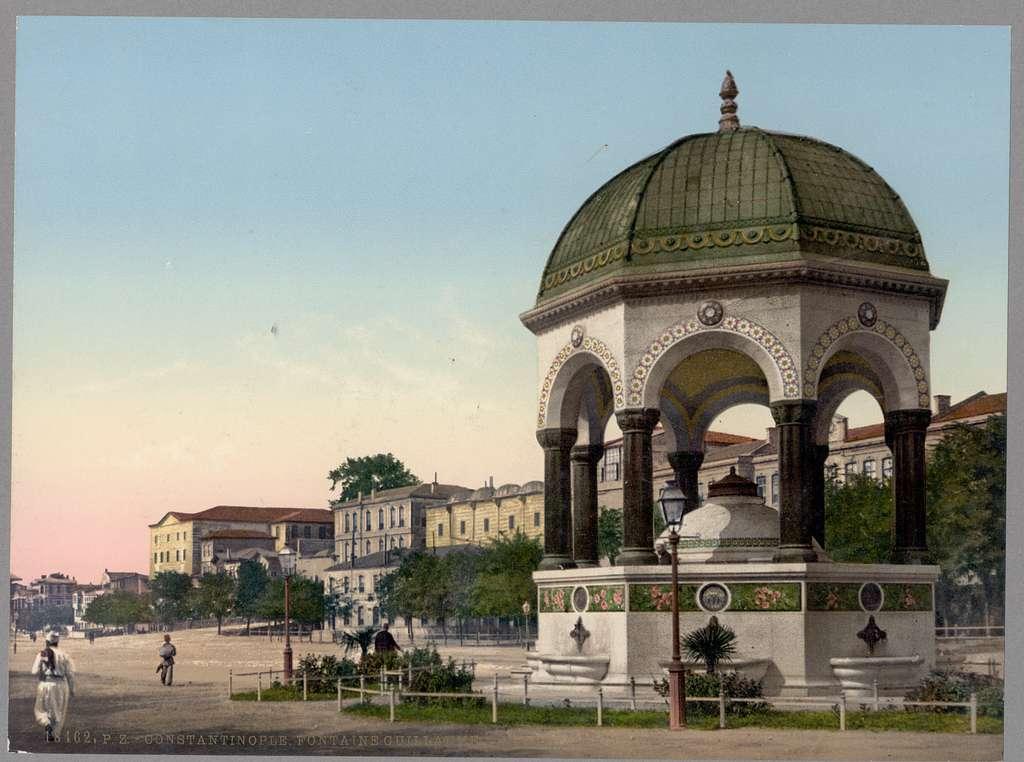 [Alman (German) Fountain,Constantinople, Turkey]