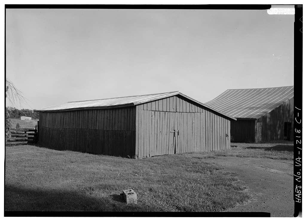 Ashleigh, Small Barn, Route 22 vicinity, Gordonsville, Orange County, VA