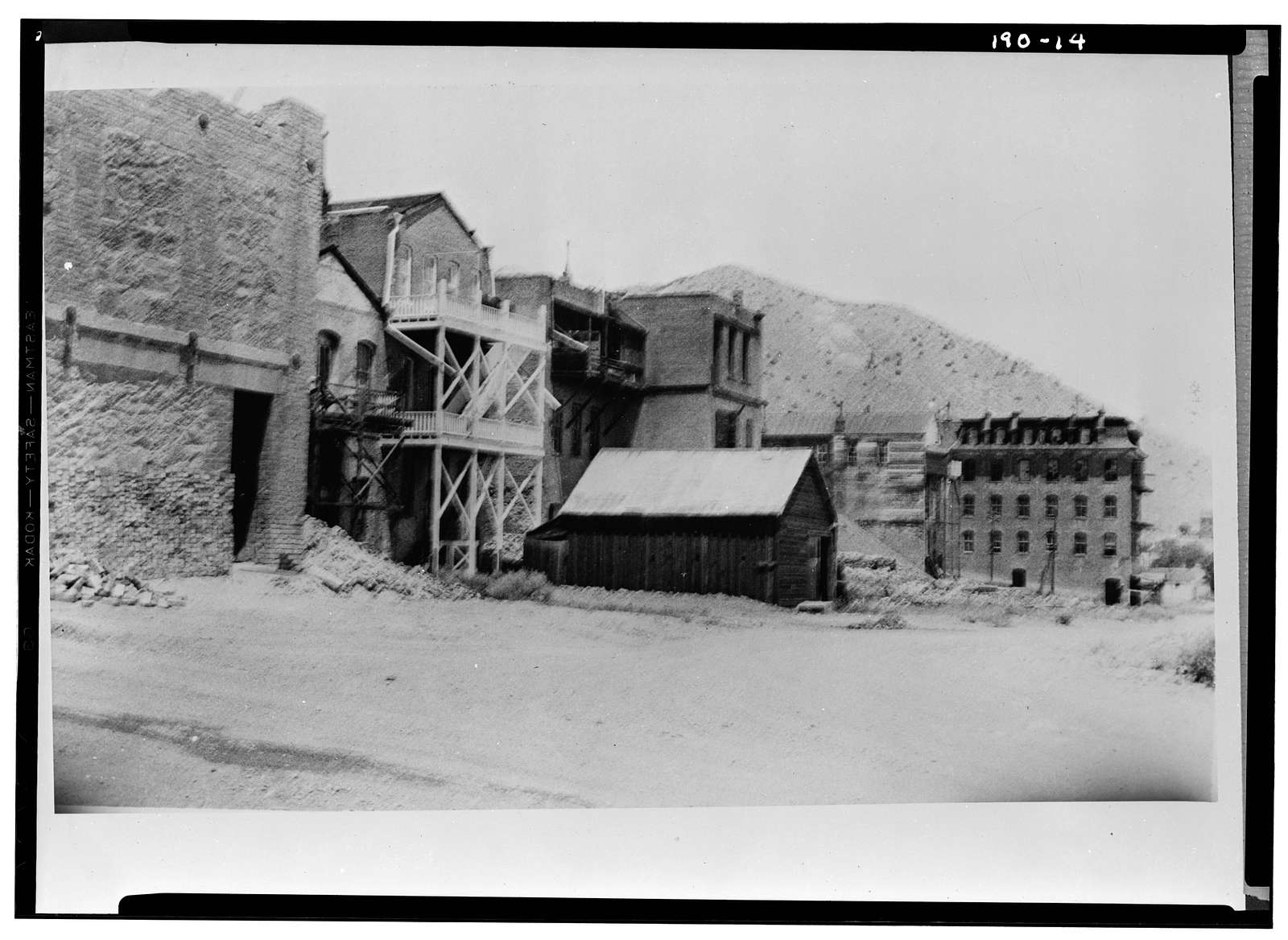 C Street Area Survey (Commercial Buildings), Virginia City, Storey County, NV