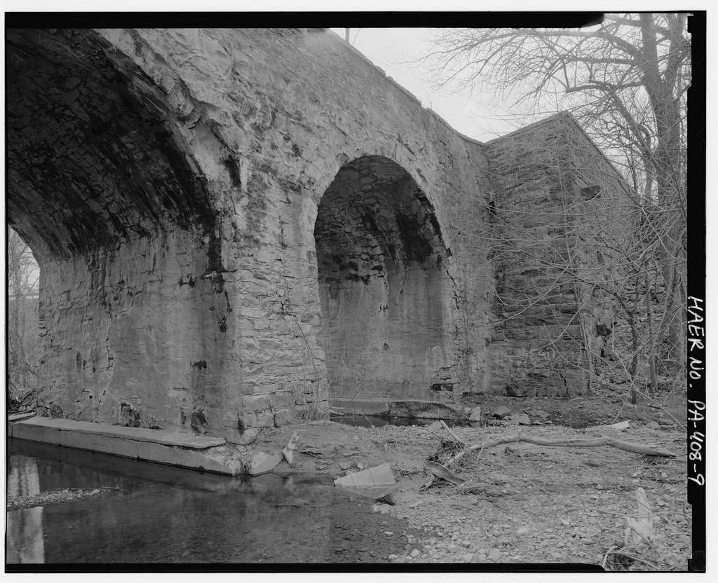 Centennial Bridge, Station Avenue spanning Saucon Creek, Center Valley, Lehigh County, PA