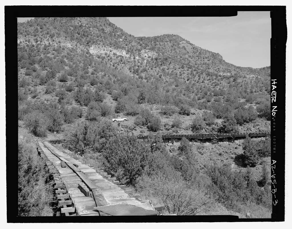 Childs-Irving Hydroelectric Project, Irving System, Intake System, Forest Service Road 708/502, Camp Verde, Yavapai County, AZ