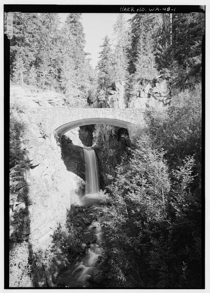 Christine Falls Bridge, Spanning Van Trump Creek on Nisqually Road, Longmire, Pierce County, WA