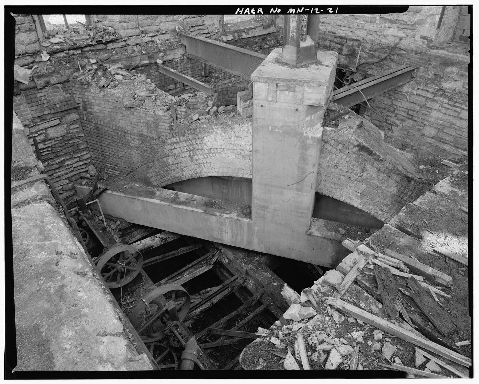 Crown Roller Mill, 105 Fifth Avenue, South, West Side Milling District, Minneapolis, Hennepin County, MN