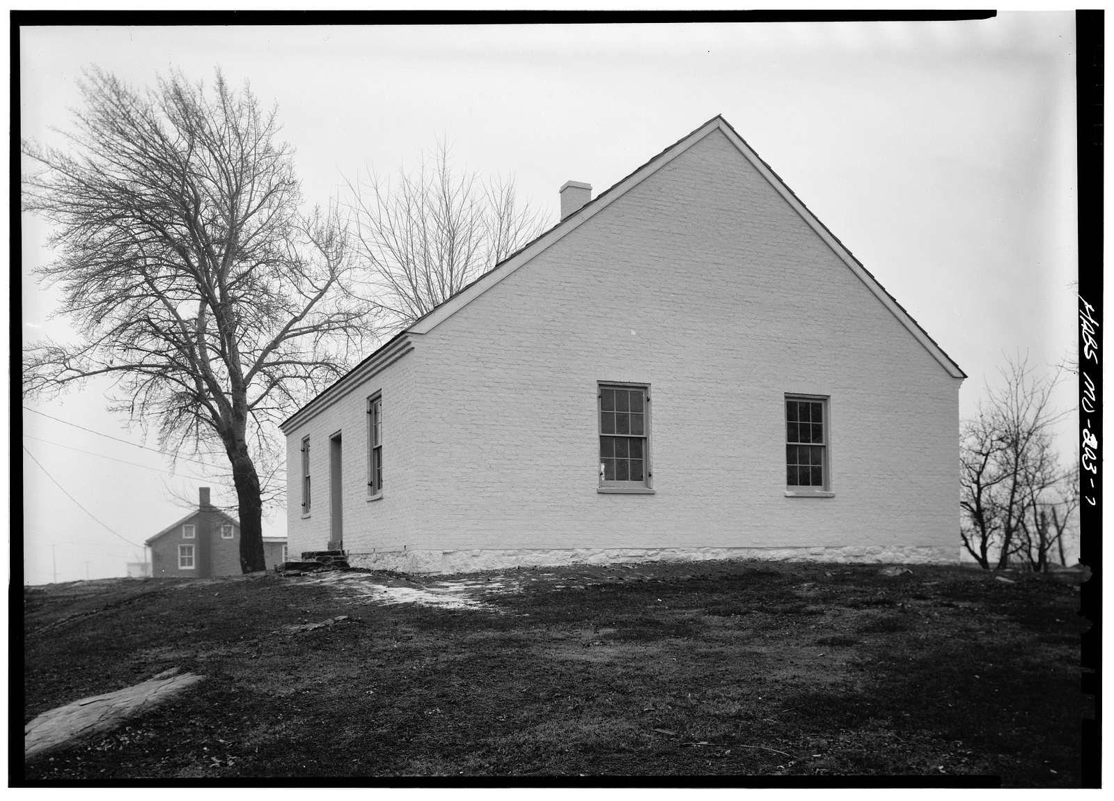 Dunker Church, Hagerstown & Smoketown Roads, Sharpsburg, Washington County, MD