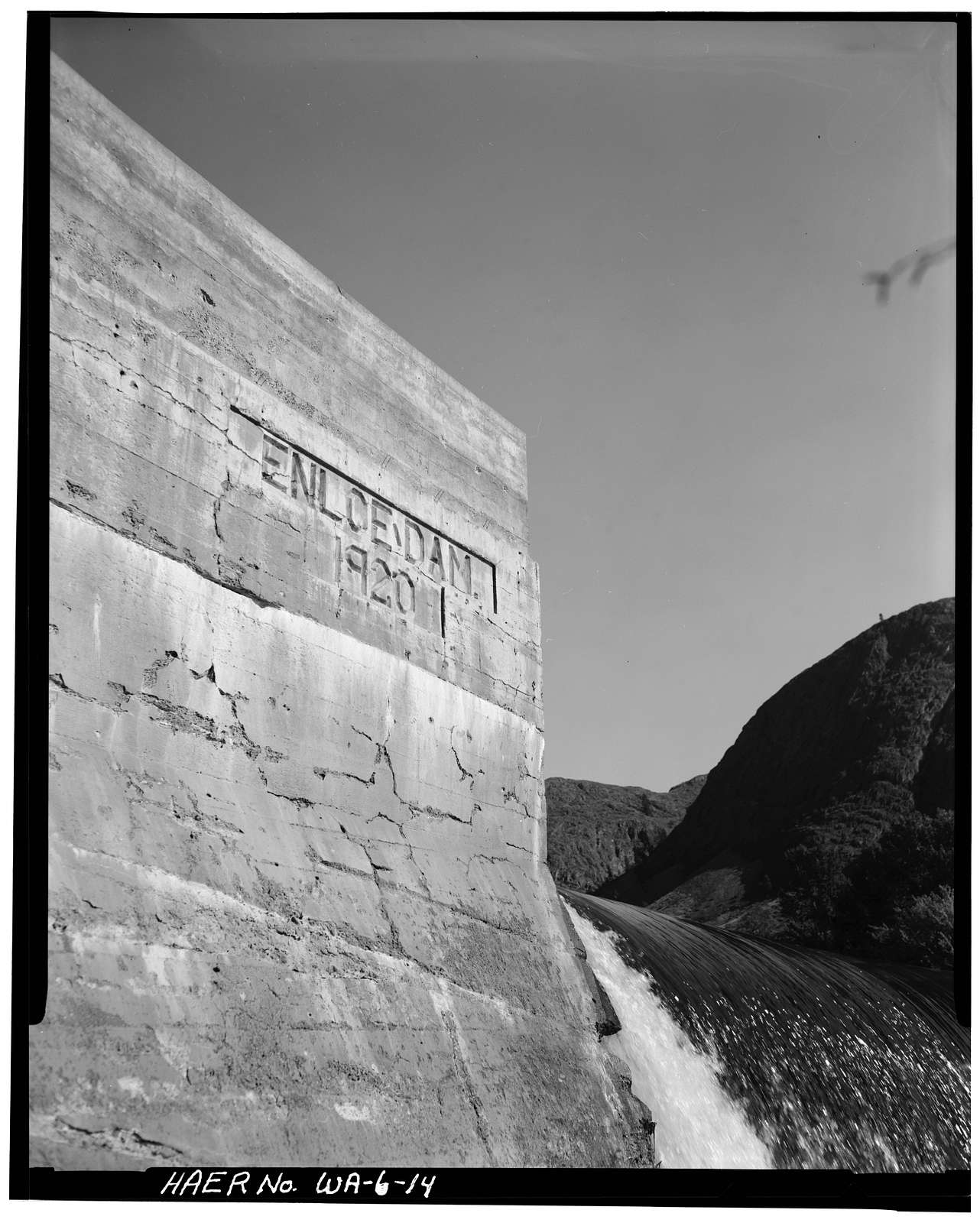 Enloe Dam, On Similkameen River, Oroville, Okanogan County, WA