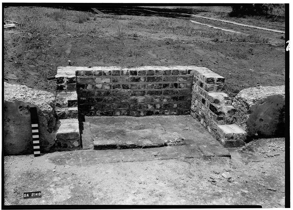 Fort Frederica, Captain John Mackay House (Ruins), Lot No. 6, North Ward, Saint Simons Island, Glynn County, GA