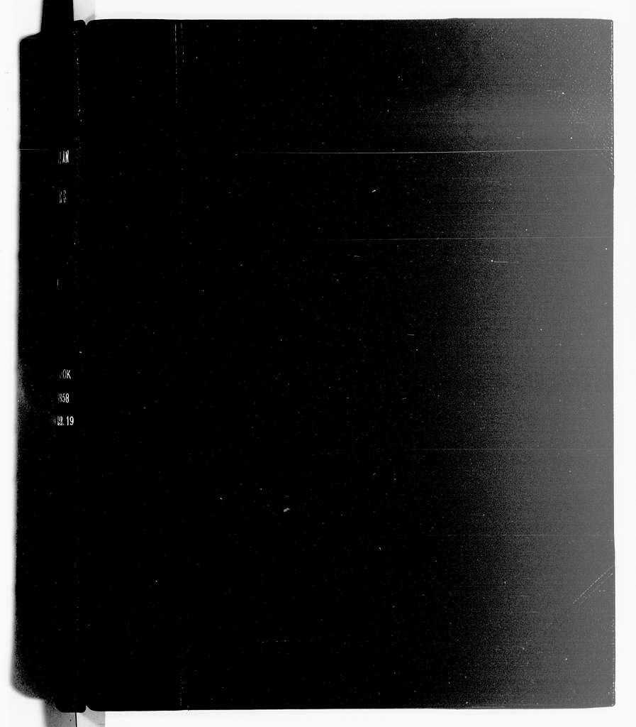 George Brinton McClellan Papers: Letterbooks and Telegram Books, 1852-1862; Letterbook; 1857, Aug. 25-1858, Mar. 19