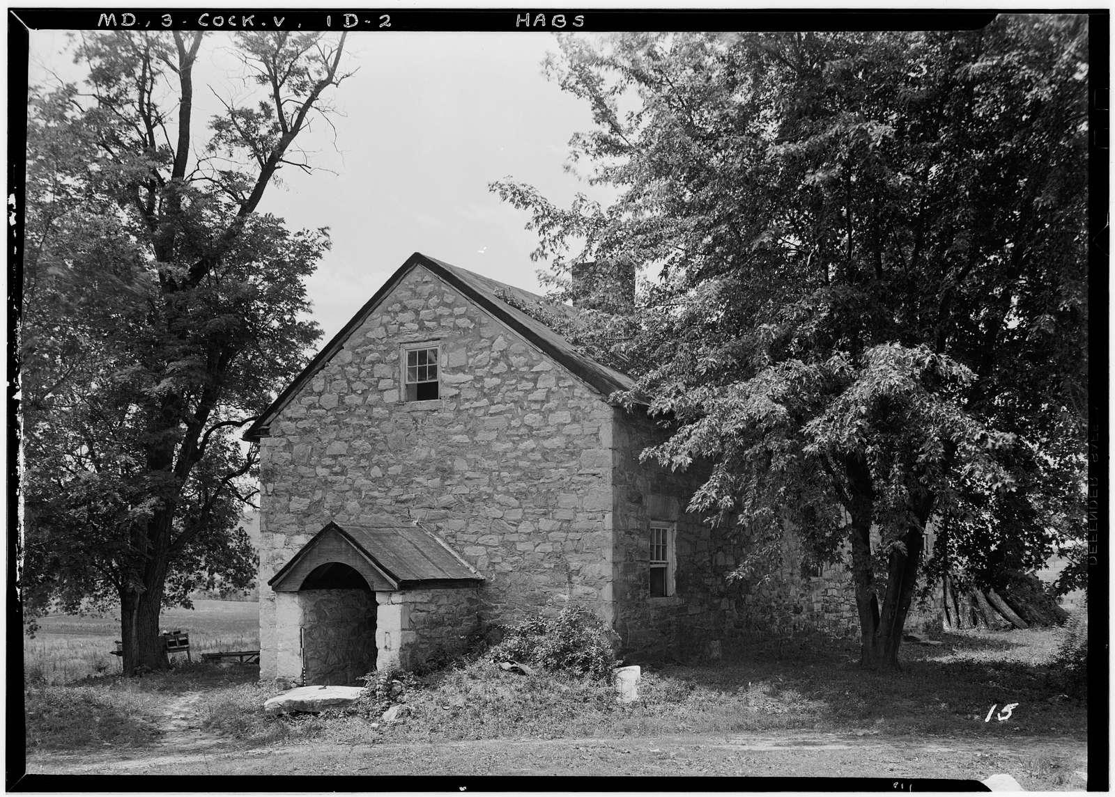 Hayfields Farm Buildings, Worthington Valley, Cockeysville, Baltimore County, MD
