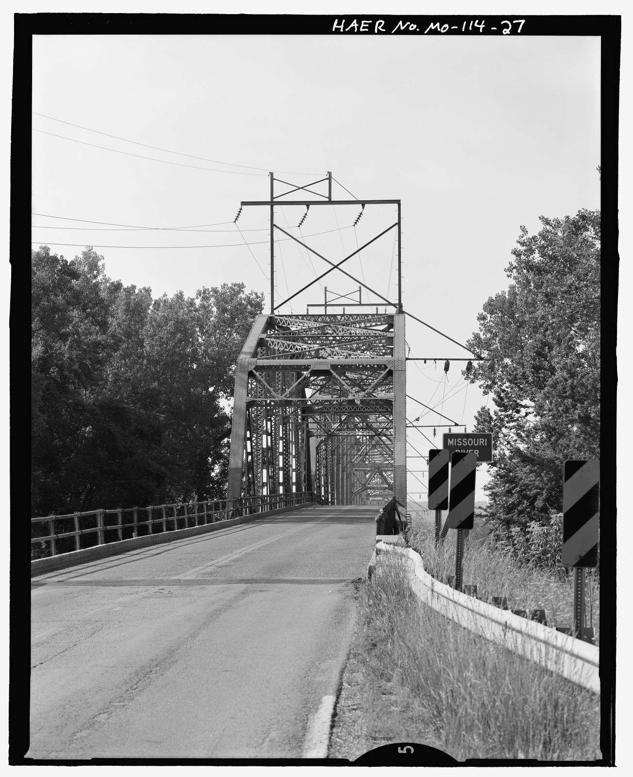 Hermann Bridge, Spanning Missouri River on U.S. Route 19, Hermann, Gasconade County, MO
