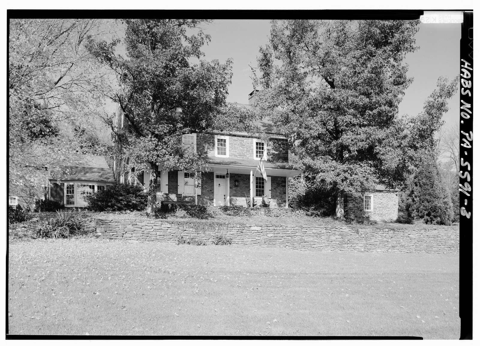 High Farm, House, Creek Road, 1 mile West of Easton Road, Pipersville, Bucks County, PA