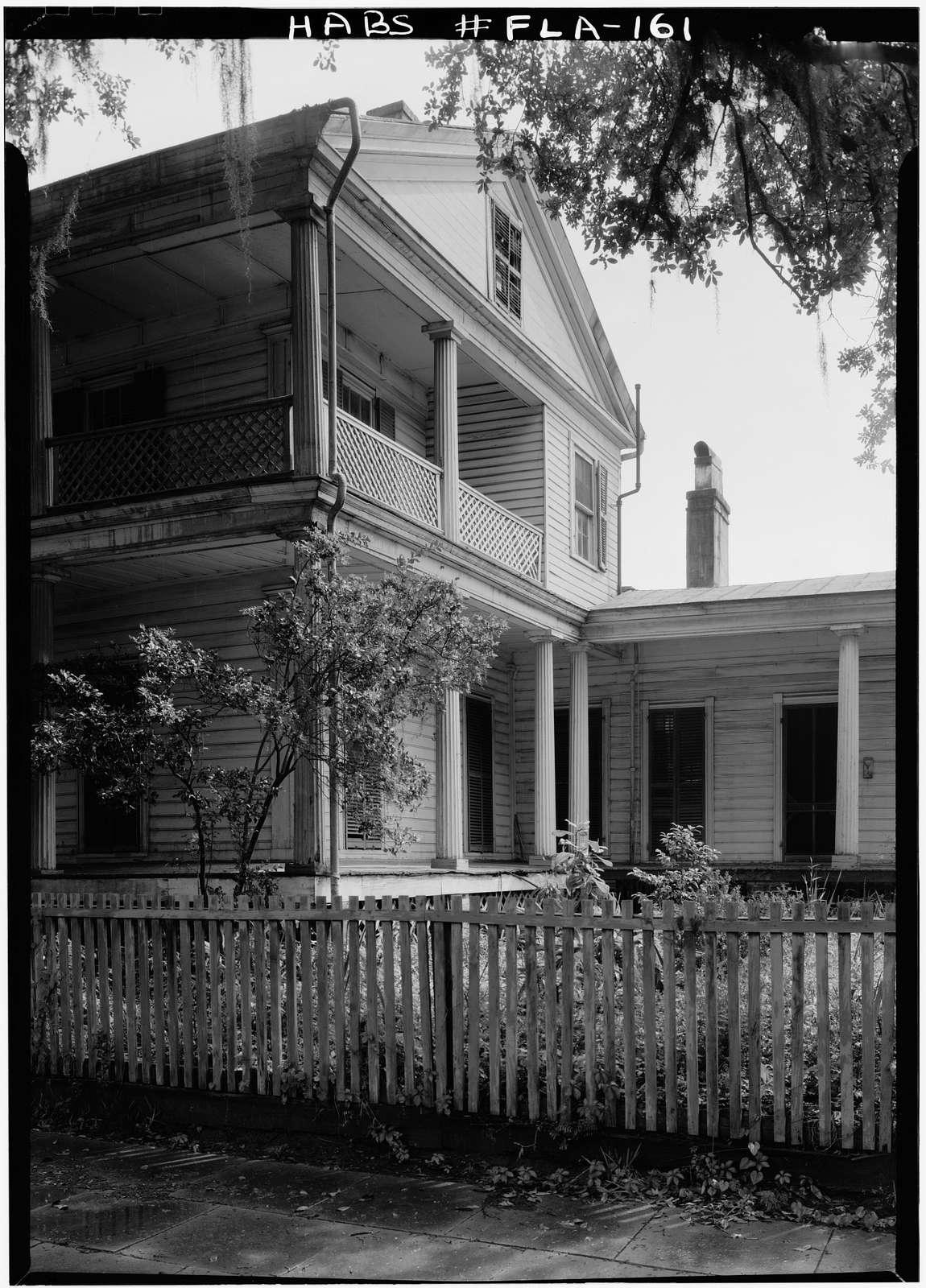 James Kirksey House, 325 North Calhoun Street, Tallahassee, Leon County, FL