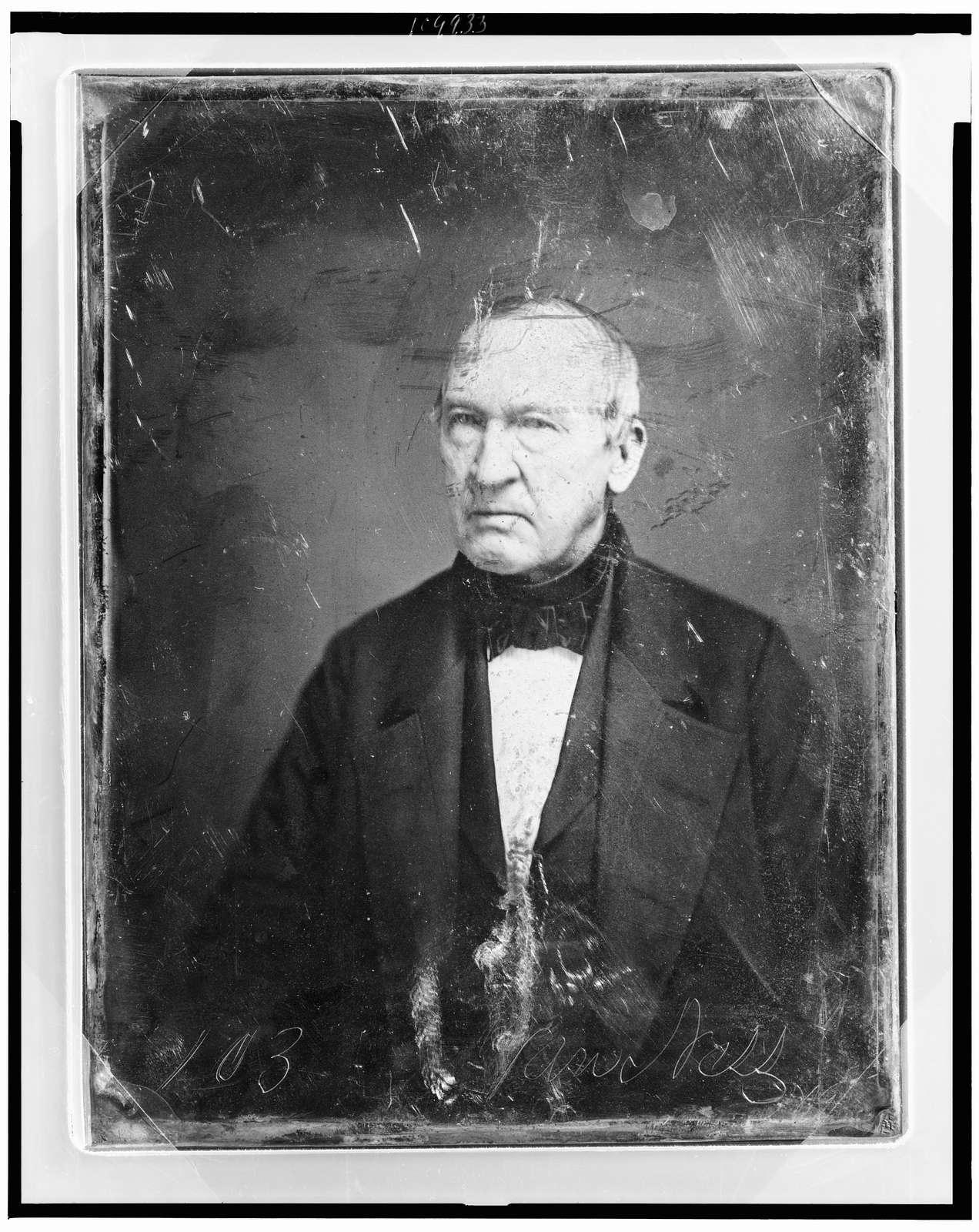 [John Peter Van Ness, head-and-shoulders portrait, facing front]