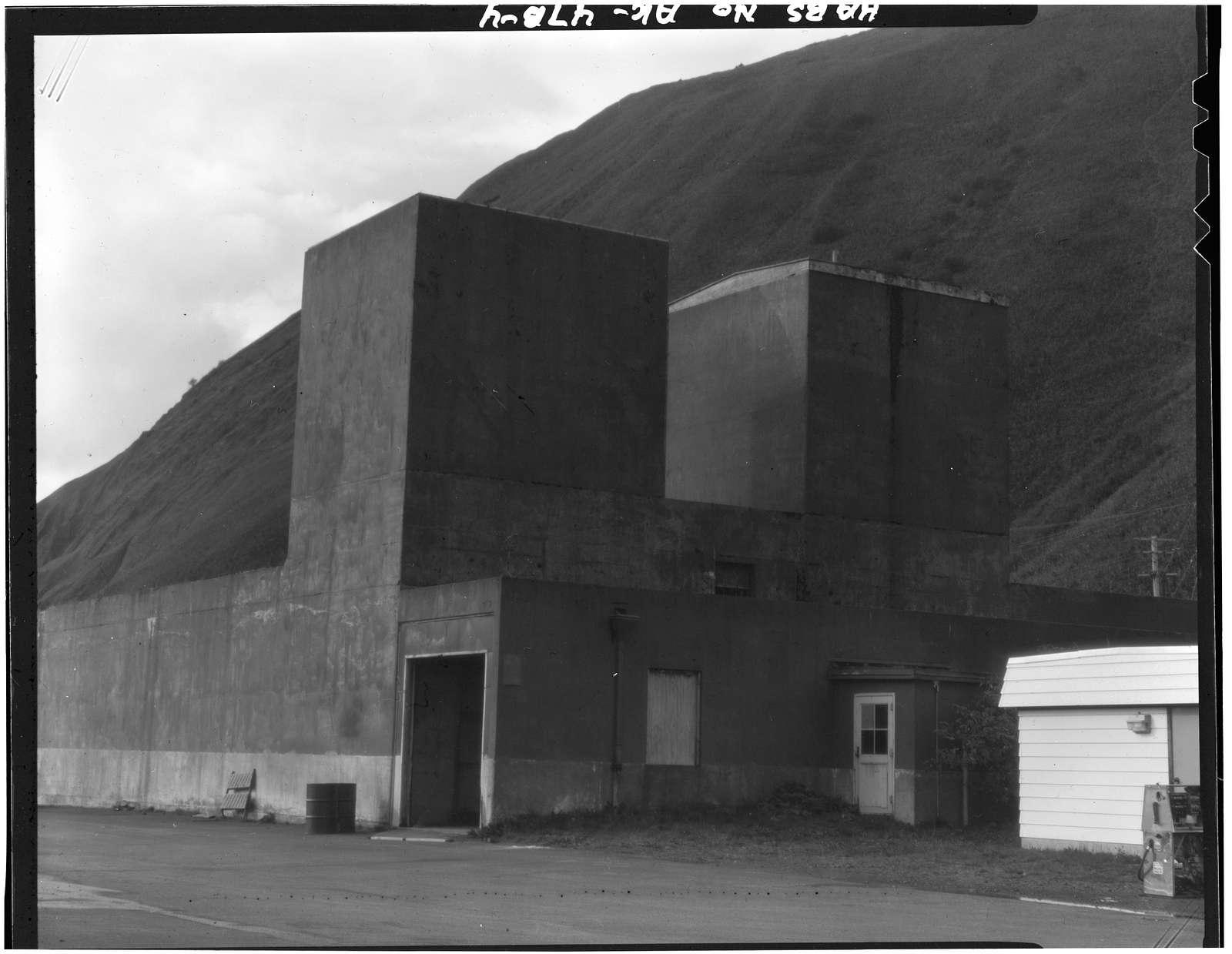 Kodiak Naval Operating Base, Aircraft Engine Test Building, Fifth Street & Tom Styles Road, U.S. Coast Guard Station, Kodiak, Kodiak Island Borough, AK