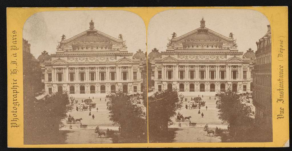 Le nouvel Opera / Photographie H.J. à Paris.