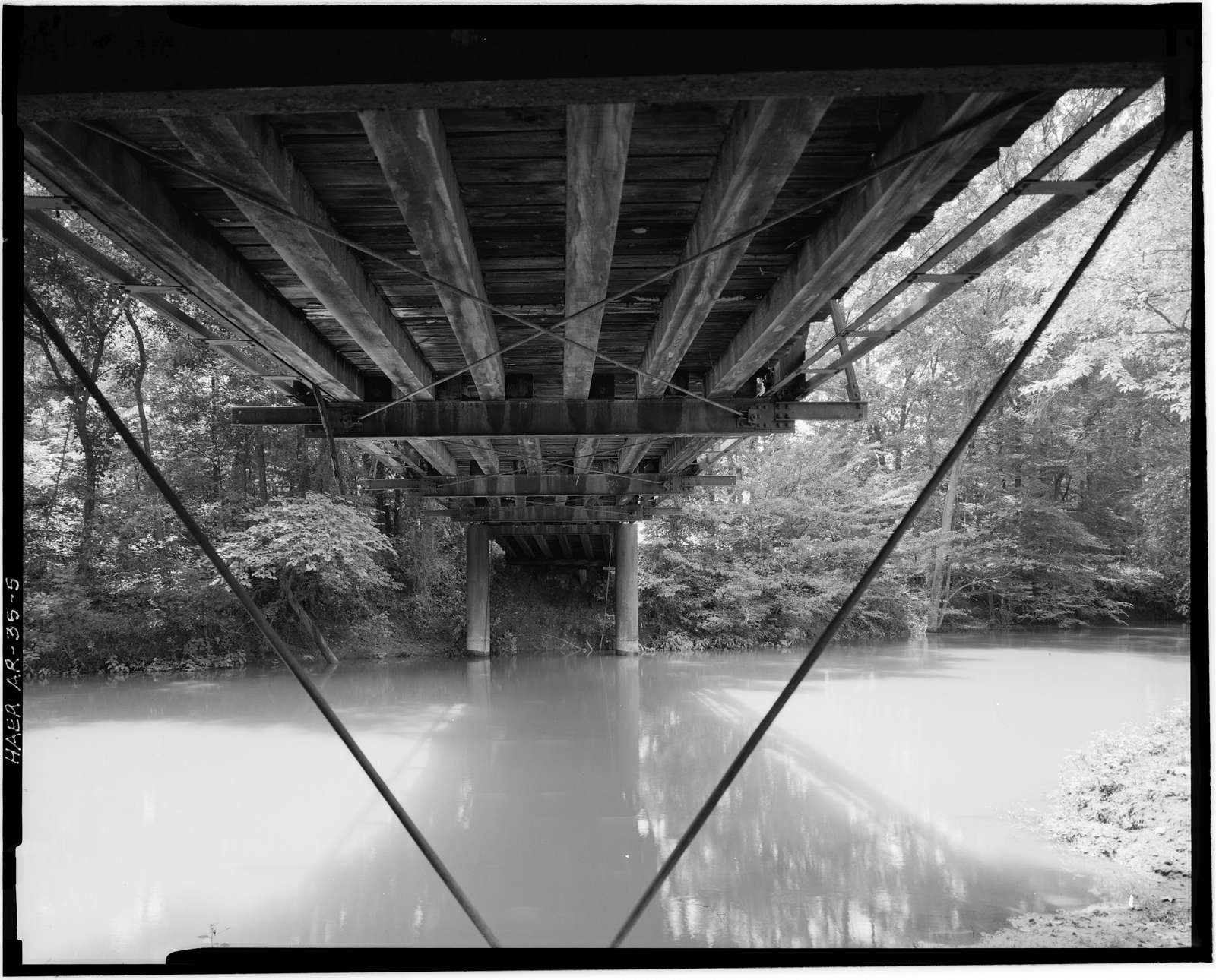 Little Cossatot River Bridge, Spanning Little Cossatot River at County Road No. 139, Lockesburg, Sevier County, AR