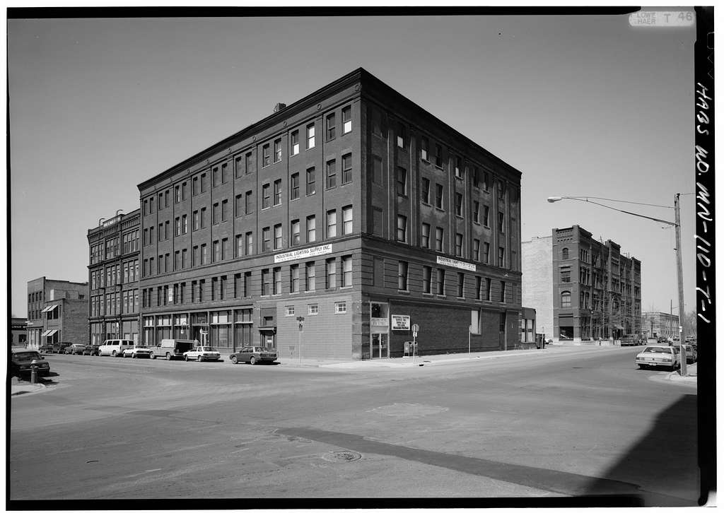 Minneapolis Warehouse District, Whitney Building, 200 North Second Street, Minneapolis, Hennepin County, MN