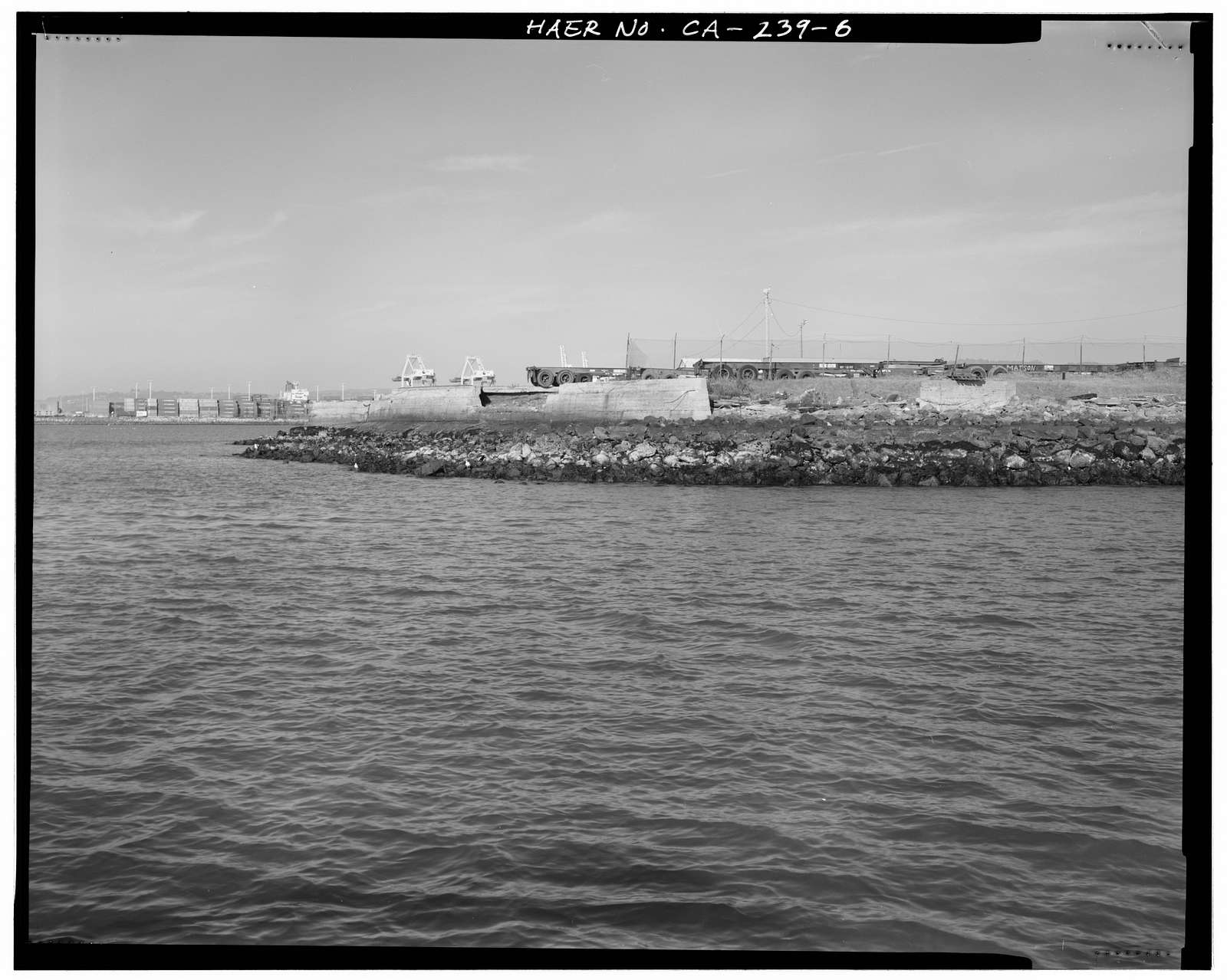 Oakland Harbor Training Walls, Mouth of Federal Channel to Inner Harbor, Oakland, Alameda County, CA