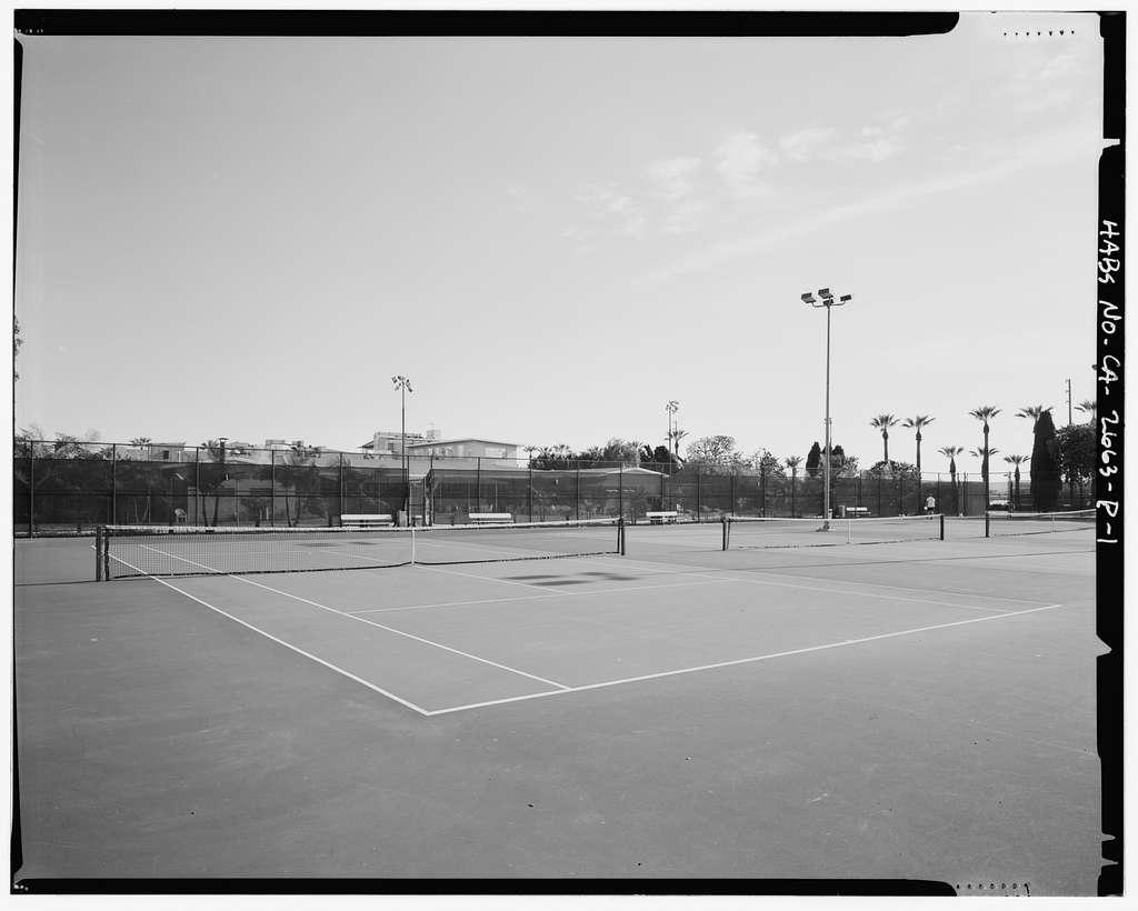 Roosevelt Base, Tennis Courts, Corner of Reeves Avenue & Pennsylvania Street, Long Beach, Los Angeles County, CA