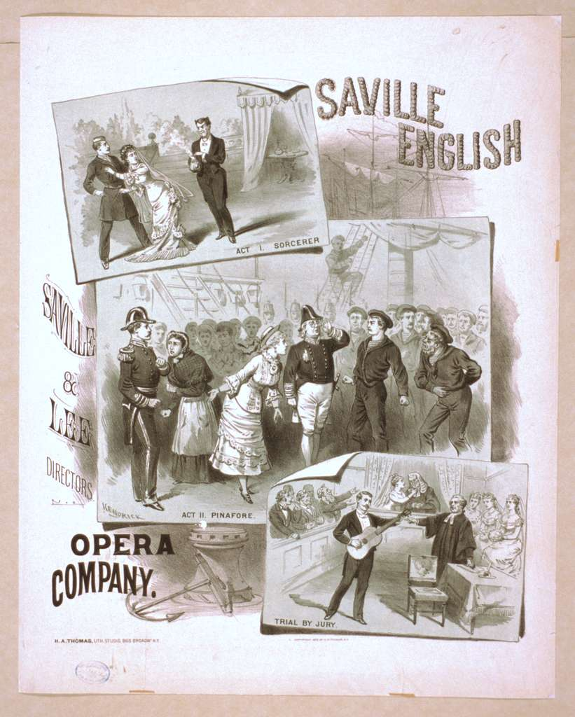 Saville English Opera Company