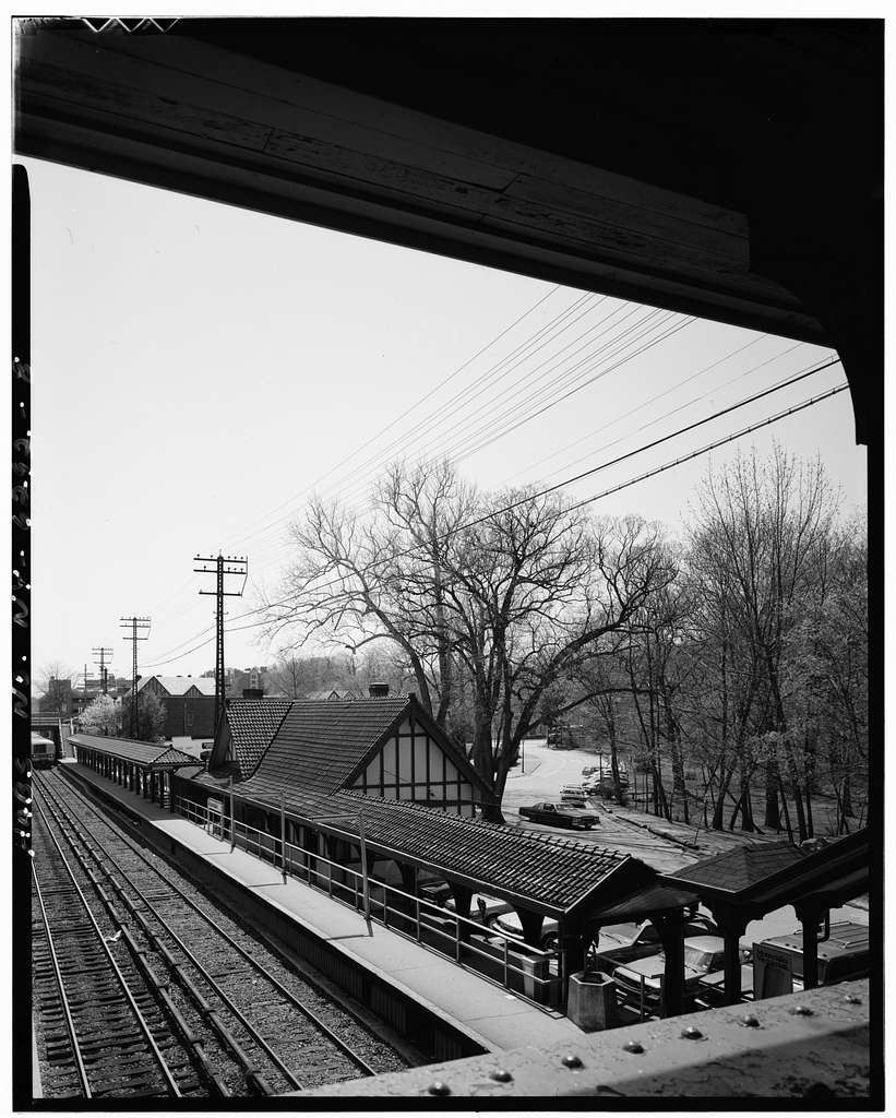 Scarsdale Railroad Station, East Parkway, Scarsdale, Westchester County, NY